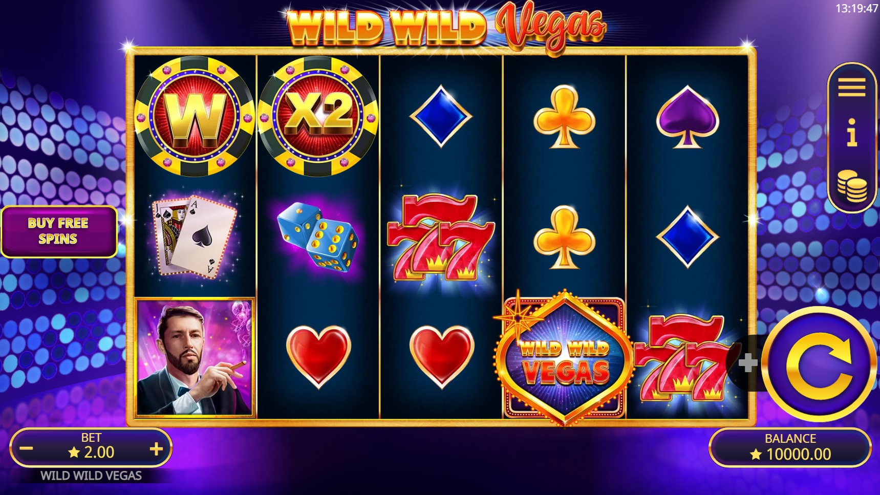Become a 'high roller' as Booming Games takes players to Sin City to experience the high stakes of Vegas in its latest slot, Wild Wild Vegas.