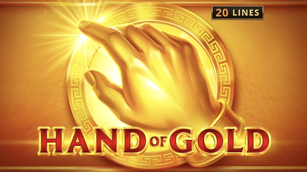 Hand of Gold is a 4×6, 20-payline video slot with features including Hand of Gold symbols, a Golden Touch feature and symbol stacks.