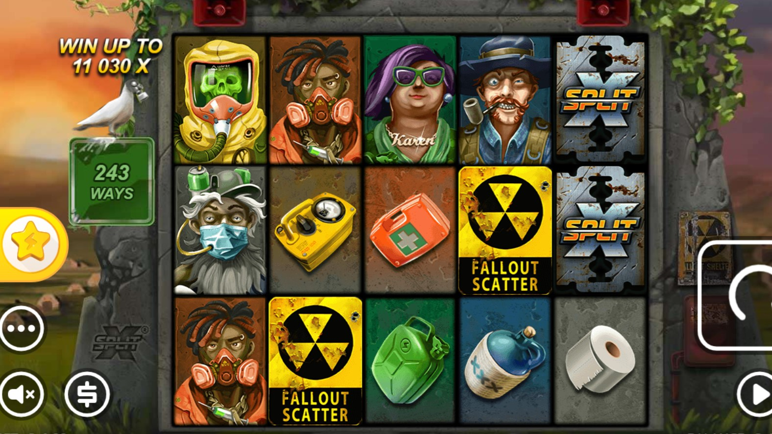 Players are propelled into a toxic wasteland dystopia in Nolimit City's xWays Hoarder xSplit, the most recent slot title in the company's catalogue of games.