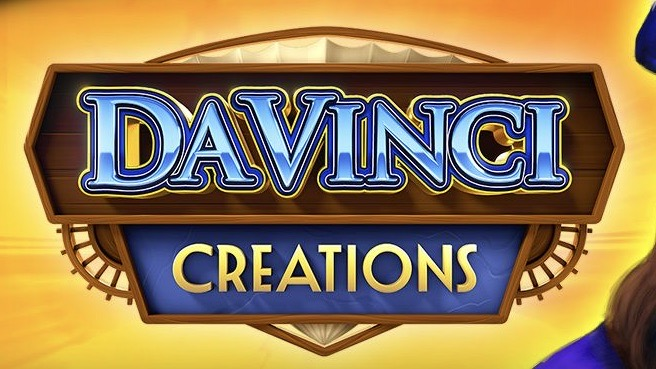 Da Vinci Creations is a 6x10 video slot with up to 1,000,000 ways to win with Way Out Ways expanding reels and locked wilds.