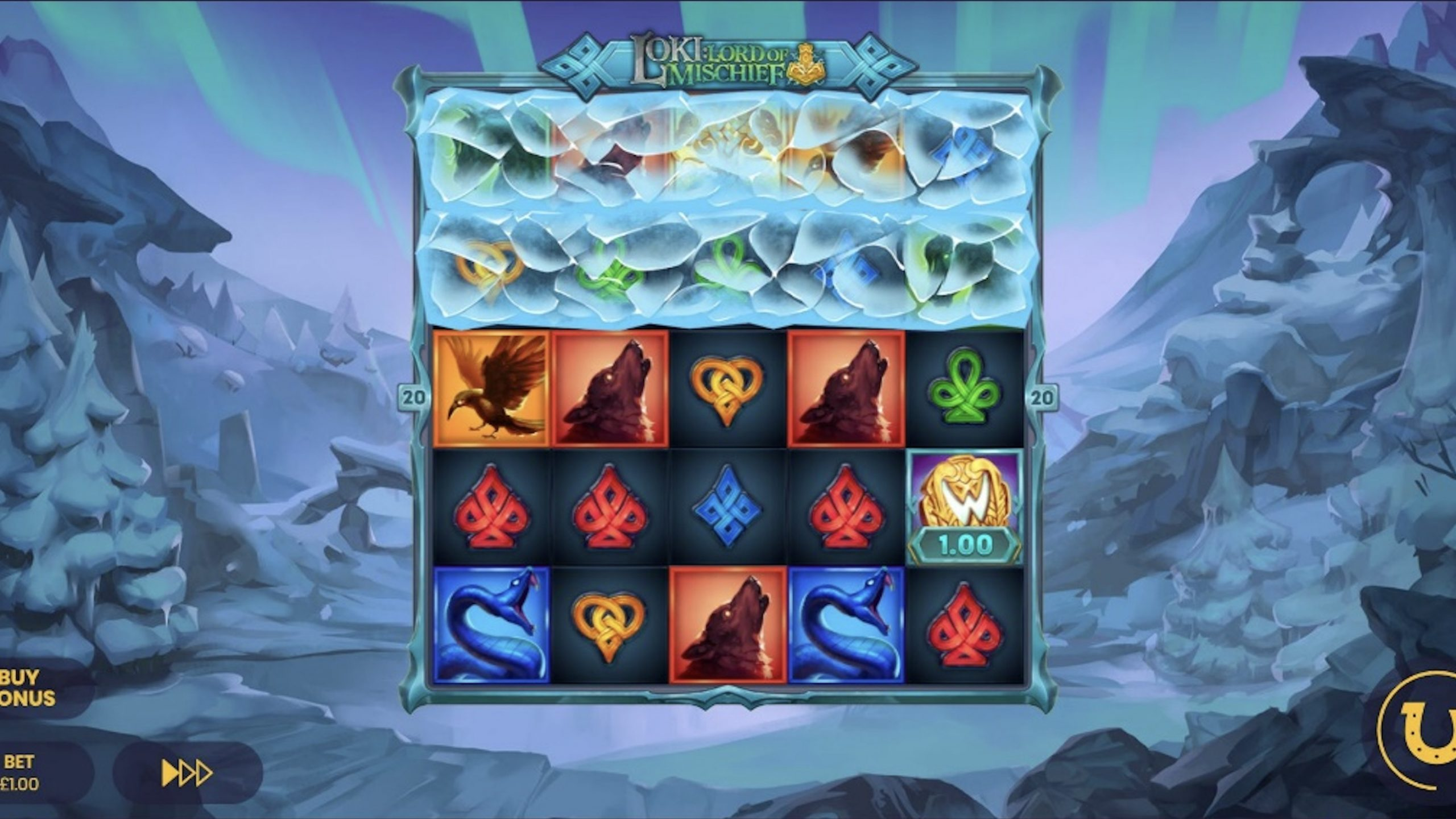 Lucksome has turned to the god of tricks in its most recent slot title Loki: Lord of Mischief, which features the Super Lux Reels mechanic.