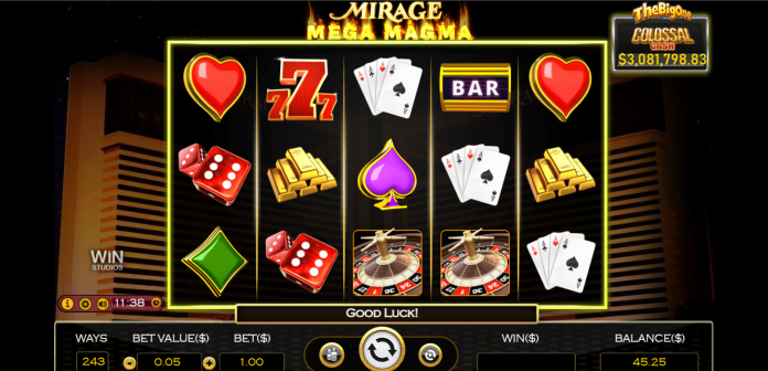 BetMGM has debuted its latest portfolio addition, Mirage Mega Magma, a new, exclusive slot game leveraging MGM Resorts' luxury casino brand.