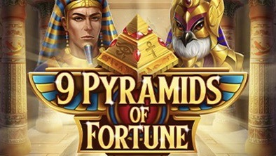 9 Pyramids of Fortune is a 5x4, 25-payline video slot with features including an Avalanche multiplier and a Pyramids of Fortune feature