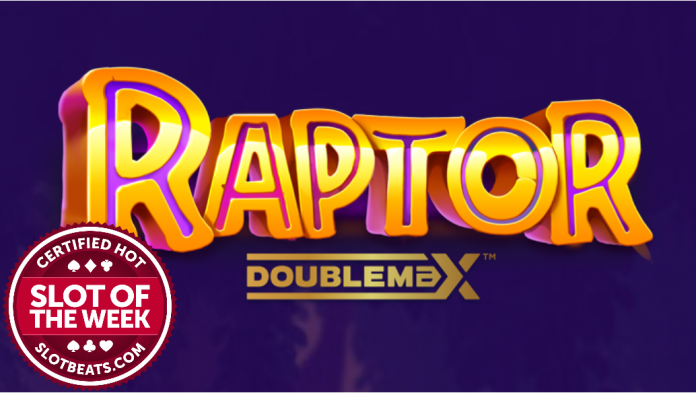 Yggdrasil takes players on a Jurassic adventure as it claims our Slot of the Week award with its roaring slot, Raptor Doublemax.