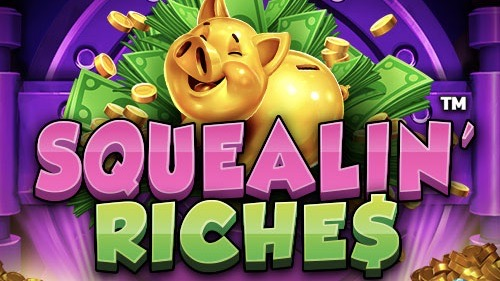 Squealin' Riches is a 5x4, 1,024-payline video slot with features including a free spins wheel, a mystery wheel, a jackpot and LockNWin.