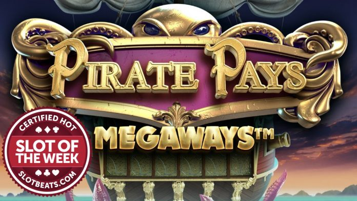 Avast ye! Big Time Gaming has set sail with our Slot of the Week award with the release of its swashbuckling title, Pirate Pays Megaways.