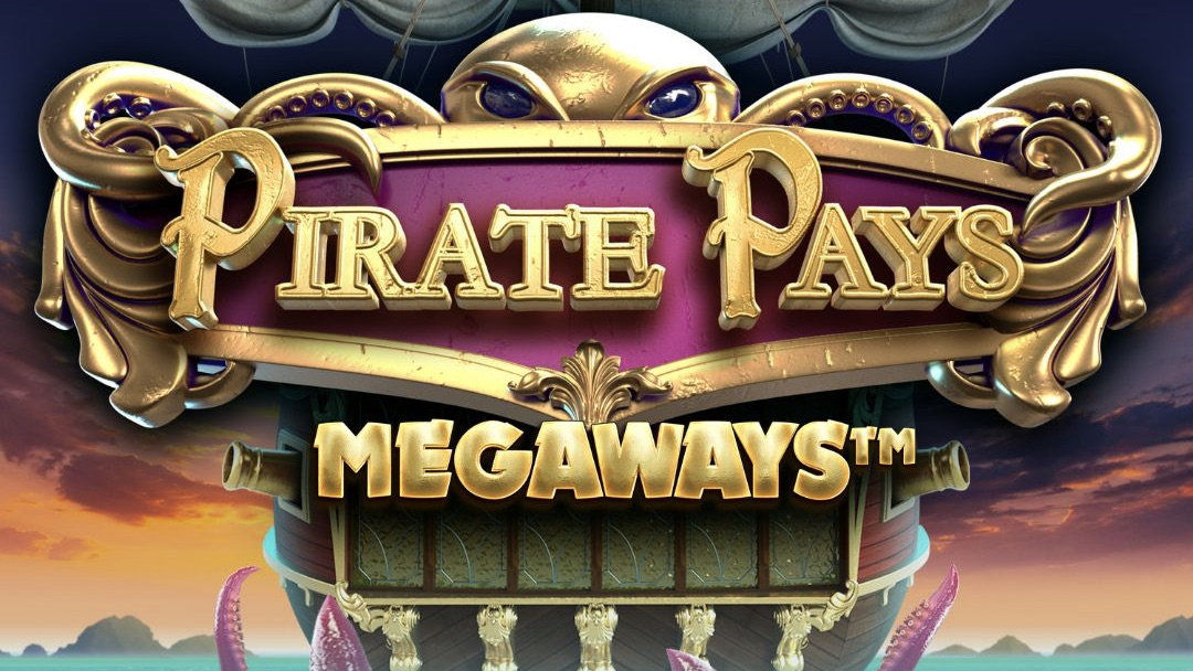 Pirate Pays Megaways is a 6x6+1 video slot with up to 117,649 ways to win, packed with stacked wilds, mega-triggers and bonus rounds.