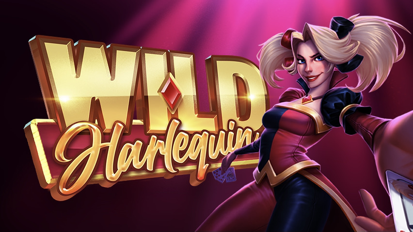 Wild Harlequin is a 5x3, 10-payline video slot including features such as a free spins bonus, multipliers and nudging wilds.