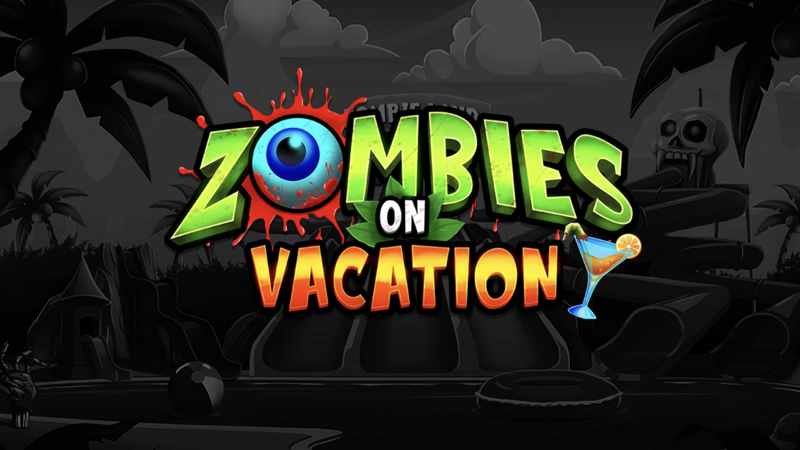 Zombies on Vacation is a 5x3, 243-payline video slot with features including multiplier wilds, a screaming girl icon and free spin options.