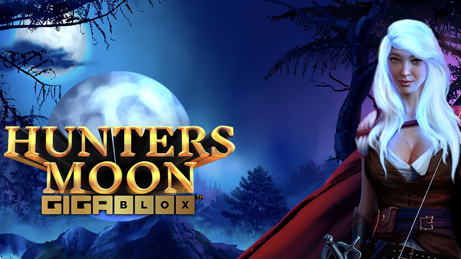 Hunters Moon GigaBlox is a 6x6, 50-payline video slot with features including a Gigablox mechanic, a bonus reel, bonus symbols and free spins