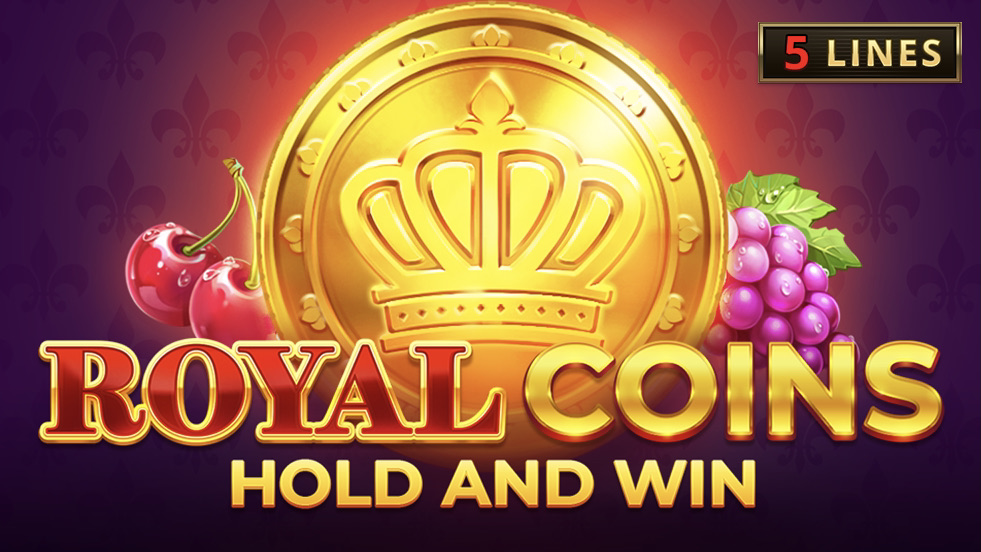 Royal Coins: Hold and Win is a 3x3, five-payline slot with features including a Hold and Win bonus game & regular, jackpot and collect coins.