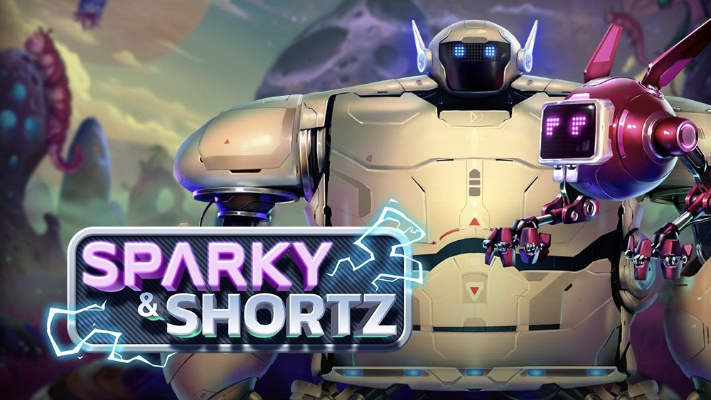 Sparky & Shortz is a 5x3,10-payline slot with features including free spins, a boost metre, stacking symbols and a multiplier.